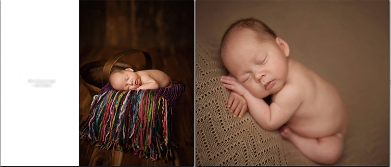 54 Newborn Goodness Book    {Atlanta Newborn Posing Photographer}