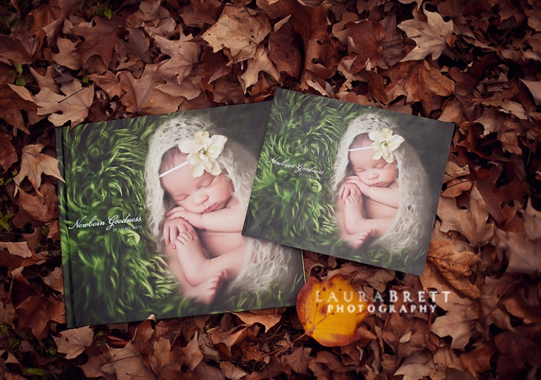 red Newborn Goodness Book    {Atlanta Newborn Posing Photographer}